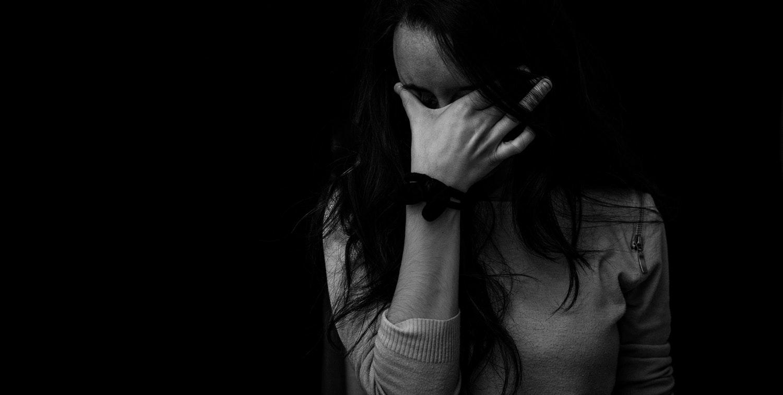 Depresión chica triste